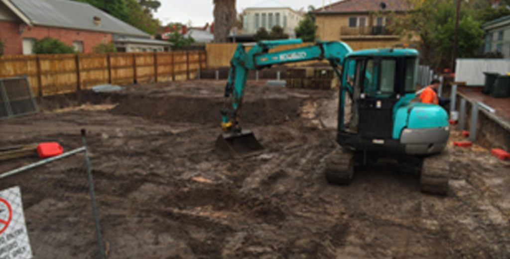 Excavation hire in Melbourne
